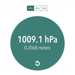 iPhoneで気圧を測定できるアプリ「Live Barometer」は低気圧や台風接近時、熱帯魚を飼う人にオススメ
